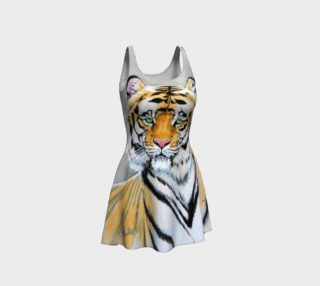 """Top Cat"" Tiger - Flare Dress preview"