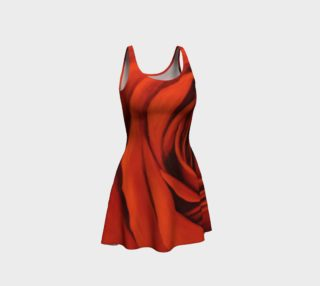 "Aperçu de ""Seeing Red"" Flare Dress"