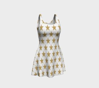 Aperçu de Gold Star Flare Dress