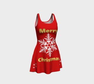 Merry Christmas Flare Dress preview