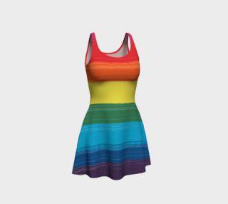 LGBTQ+  Pride  Flare Dress preview