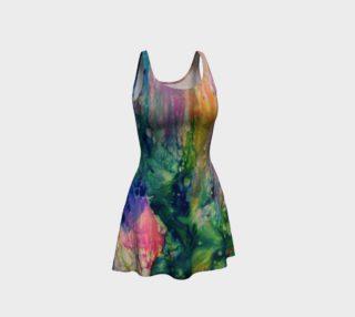 Aperçu de Golden Rainbow Flare Dress