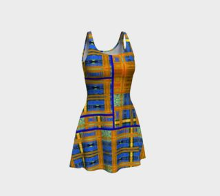 Channeling Vincent / Virtual Vincent™ Multi-Window Flare Dress preview