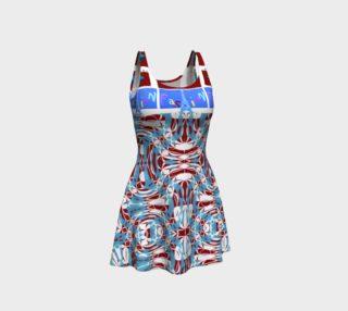 Ultra-Fashion Statement / Eiffel-Spiral Flare Dress preview