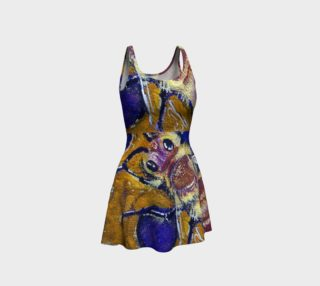 Busy Beehive Super Bee Flare Dress preview