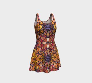 Amber Kaleidoscope Flare Dress preview