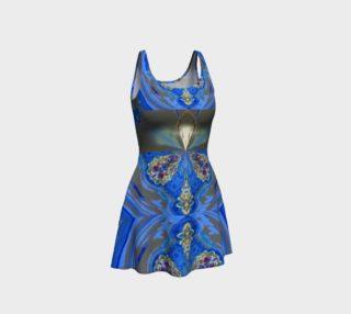 Aperçu de Glowing Gemstone Flare Dress