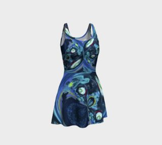 Lady Nighthawk Super Floral Flare Dress preview