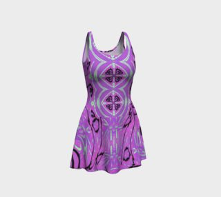 Crane of Paradise Double Target Yoga Party Dress preview