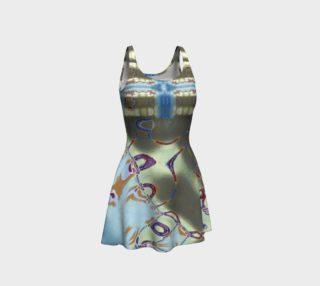Glitter Queen Super Sheen Party Flare Dress preview