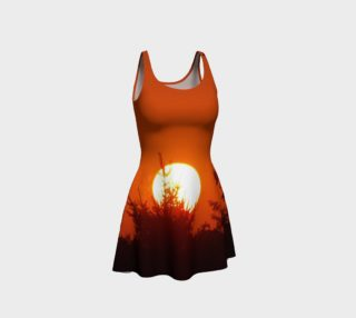 August Sunset Flare Dress preview