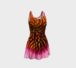 Looking Down the Cone Flower Flare Dress preview
