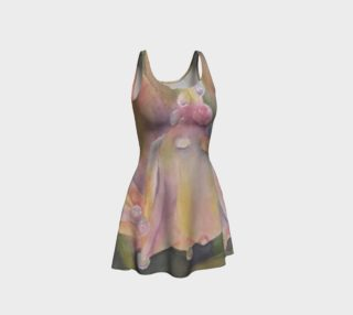 Pastel Dew Drop Flare Dress preview