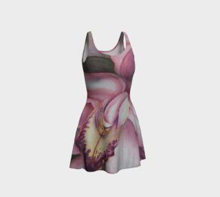 Exotic Orchid 2 Flare Dress preview