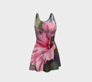 Hibiscus Flare Dress preview