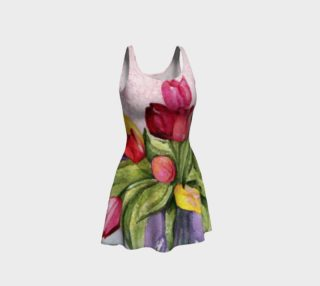 Tulip Bouquet Flare Dress preview