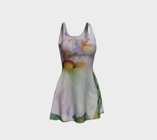 White Iris II Flare Dress preview