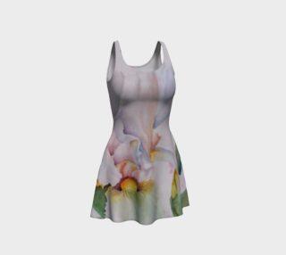 White Iris III Flare Dress preview