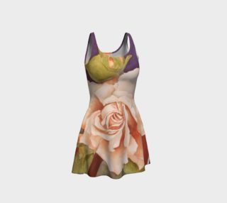 Antique Rose Flare Dress preview