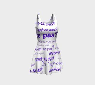 Aperçu de Purple N'est-ce Pas Flare Dress