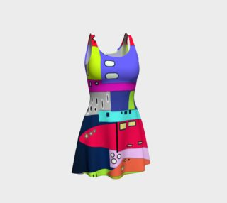 Space City Flared Dress preview