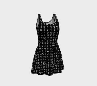 Aperçu de Black Alchemy Flare Dress
