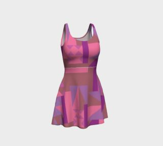 Purplely Pink Pattern Dress preview