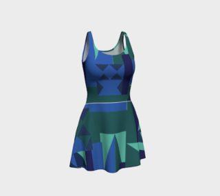 Erie Aqua Dress preview