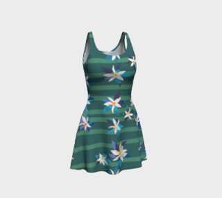 Green Blue Tropical Dress preview
