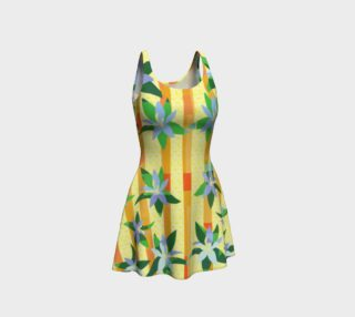 Tropical Yellow Floral Dress preview