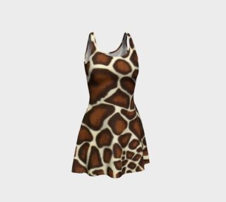 Giraffe Spots Flare Dress preview