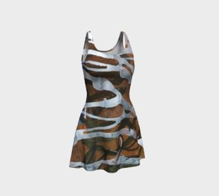 Asemic Flare Dress preview