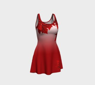 Red Maple Leaf Dress Beautiful Canada Dresses aperçu