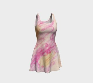 Pink Flowerets Flare Dress preview