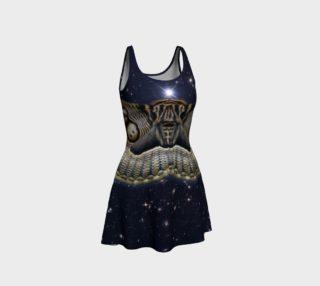 Aperçu de Stellar Brahmin Moth Flare Dress