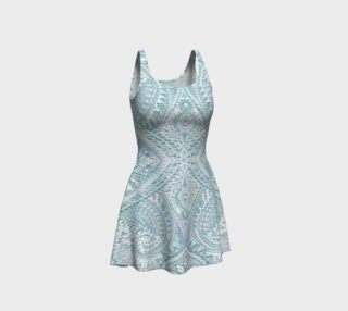 Aperçu de Iced Lace Vintage Print Dress by Tabz Jones