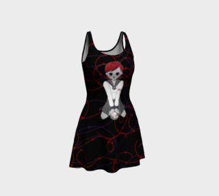 Anime Vampire Girl Goth Art Dress By Tabz Jones preview