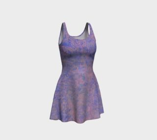 Pink and Blue Patterned Bodycon Dress preview