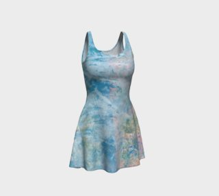 Light Blue Multi Flare Dress preview