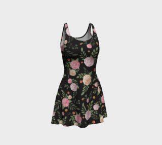 Black Floral Flare Dress preview