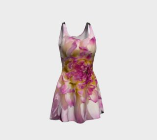 Pink Dahlia Flare Dress preview