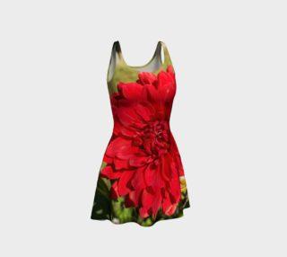 Red Dahlia Flare Dress preview