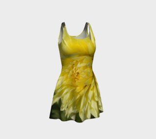 Yellow Dahlia Flare Dress preview
