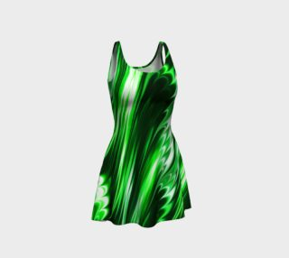 Emerald Flare Dress preview