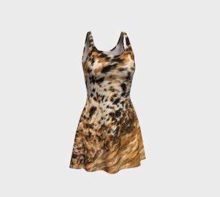Aperçu de Sassy Black Brown Faux Fur Animal Prints