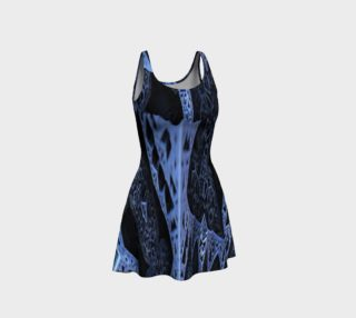 Aperçu de Blue Arts On Flare Dress