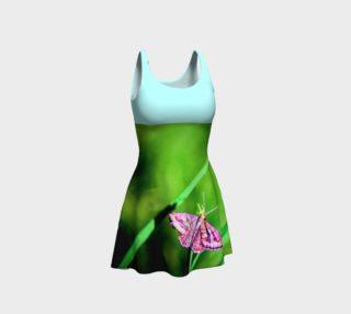 Aperçu de Butterfly on Grass Dress  - Mint