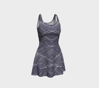 Aperçu de Flare Blue Dress
