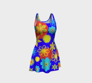 Flower Max Color Flair Dress preview