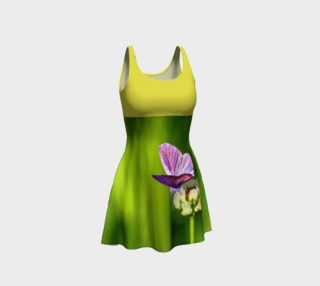 Aperçu de Butterfly on a Flower dress - Yellow